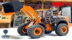"DO YOU LIKE THE COLOR? ""DOOSAN"" HYDRAULiC ALL-METAL Wheel Loader BUiLD! LESU (PT 4)  