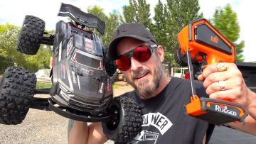 "ARRMA KRATON EXB 2020 ""FULL OPTION"" STUNT TRUCK: ULTIMATE BASH VIDEO – JUST SEND IT! 