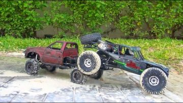 RC AVENTURI – Vaterra Twin Hammers RTR & RC4WD Trail Finder 2 – in MEXiCO!  PART 2