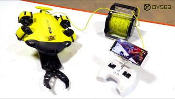 "NEW FiFiSH ""V6S"" – ROBOTIC CLAW & UNDERWATER/SUBMERSIBLE SUBMARINE ""ROV"" PACKAGE! 