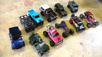 RC AVENTURI – 11 Scale Trail Crawler Comparisons:  G-Made, Axiale, RC4WD, Tamiya & Vaterra