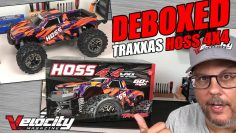 TRAXXAS HOSS 4X4 VXL – UNBOXED AND IN DEPTH