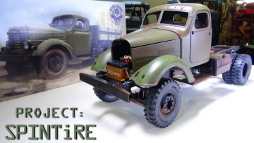 "RC ADVENTURES – Projekt: ""SPiNTiRE"" – So wird es gemacht: PATiNA BASE PAiNT & SALT CHiPPiNG – KR11 Truck  / CA10"