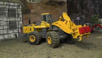 RC CONSTRUCTION l RC MACHINES l RC RIPPER l RC Komatsu!