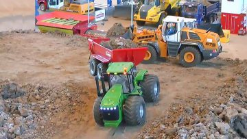 CONSTRUCTION SITE – RC SHOW –  nice and beautiful rc models