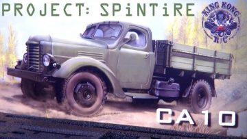 "AVVENTURE RC – Progetto: ""SPiNTiRE"" 4×2 Dually Tractor Truck ""CA10"" Kit Unboxing – KiNG KONG RC"