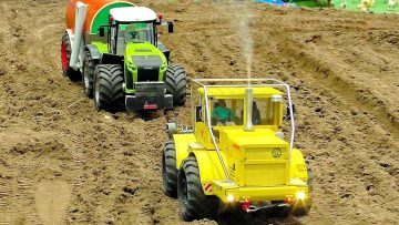 Wow !!! RC TRACTOR AGRICULTURE WITH FASCINATING AND POWERFUL SCALE 1:14 MODEL MACHINES IN MOTION