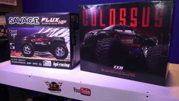 RC ADVENTURES – HPi Savage Flux HP vs. CEN Colossus GST-E 1/8 Scale Electric 4×4 Monster Trucks