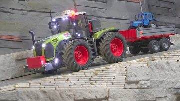 RC SHREDDER A NEW REMOTE CONTROLLED TRACTOR! THE BOSS IS A IDIOT! UIMITOR VEHICULE RC ! RC WORLD