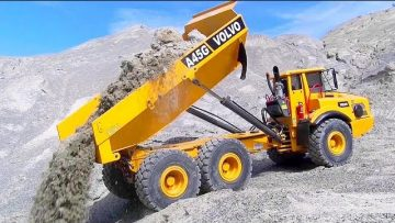 Stunning RC truck Volvo A45G! Fantastic RC Vehicles in action! Heavy RC toys!