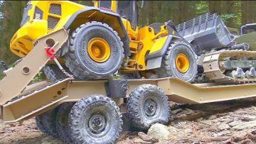 RC FOREST WORKERS! STONGEST RC VEHICLES IN ACTOPN! MAMMOTH BC8 SPECIAL! MAN 6×6
