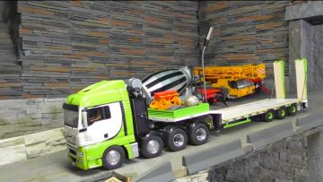 SCANIA 8×4 WITH LOWER LOADER – AWESOME RC SCANIA – AMAZING RC MASCHINES !