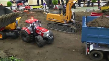 FANTASTISK RC BYGGEPLADS! RC WORK TO DAY! RC MACHINES AT WORK!