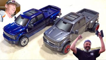GiViNG 2 FRiENDS BRAND NEW CEN RACiNG FORD F450 DL CUSTOM TRUCKS & TORTURE TESTiNG! | RC ПРИКЛЮЧЕНИЯ