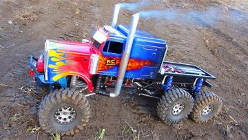 RC ADVENTURES – OPTiMUS OVERKiLL – ROLL OUT! 6x6x6 BiG RiG Transformers Tribute Semi Truck