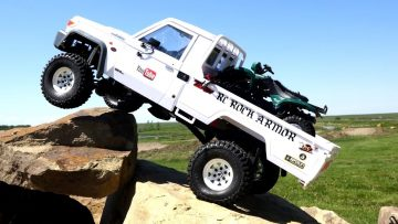 RC EVENTYR – Toyota LC70 Land Cruiser w/ ATV in Bed – as Fast as Necessary, as Slow as Possible