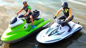 "ŚOI do ""KLASA HOBBY"" PROP SKI vs. KYOSHO WAVE CHOPPER 2.0  NARTY PROP (STOCK) 