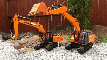 RC ADVENTURES – Two Earth Digger 4200XL Excavators hide Toxic Waste