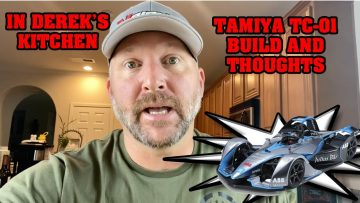 In Derek's Kitchen – Building and thoughts – Tamiya TC-01 Formula E Gen 2 Masina