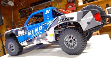 8S LIPO – UNBOX & Test: BLUE Losi Super Baja Rey 2.0 – 1/6 BL RTR Smart Desert Truck | PRZYGODY RC