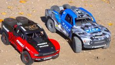 "8S LOSI SUPER BAJA REY 2 or 6S TRAXXAS UDR – WHICH is ""BETTER""? 