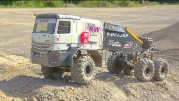 COOL RC TRIAL TRUCKS IN ACTIE! MERCEDES BUFFALO 6X6X6! SCANIA 6X6 AGRAR TRUCK