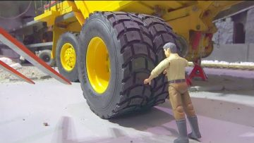 NEW RC TIRES FOR THE CATERPILLAR 777D! SPECIAL MODEL TIRES FROM PISTOR MODELLBAU