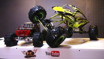 RC 冒险 – Exceed RC MaxStone 1/5th Scale Crawler – A Monster RC TRUCK
