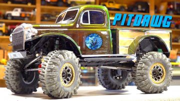 JLU JEEP to DODGE POWERWAGON TRUCK Conversion – PiTDAWG HYDRO – Осеальный SCX10 3 | RC ПРИКЛЮЧЕНИЯ