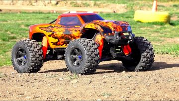 RC AVANTURE – Unboxing a Double Flame Traxxas X-MAXX – Pitdawg Hydro Dip!