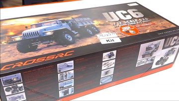 ADVANCED BUILD – UC6 URAL 6×6 (6WD) OFF TRAIL TRUCK (Eps 1) | RC ADVENTURES