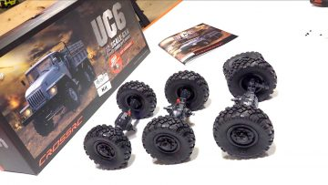 THE BUILD UP – UC6  6×6 OFF ROAD TRUCK (Pt 2) | AVENTURES RC