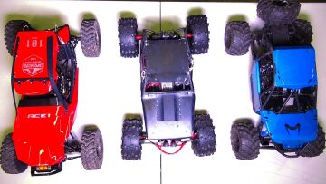 AVENTURAS RC – Compare! Capo ACE-1, BLACK WiDOW Wraith, Axial BOMBER RC Trucks