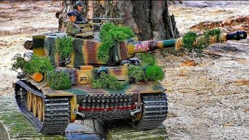 Wow !!! RC SCALE 1:16 MODEL TANK WITH FANTASTIC NATURAL SOUND AND FUNCTIONALITY IN MOTION