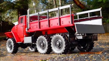 BUSH FIRE TRUCK PROJECT – URAL 6×6 PT 5 – IT MOVES! | RC EVENTYR
