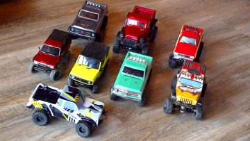 "TiNY TRUCK COLLECTION! ELEMENT RC ""SENDERO 24"" UNBOXiNG & REPAiR 