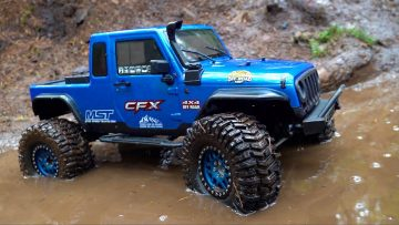VANQUISH KMC's GET MUDDY for the FIRST TIME – MST CFX-W JEEP | AVENTURAS RC
