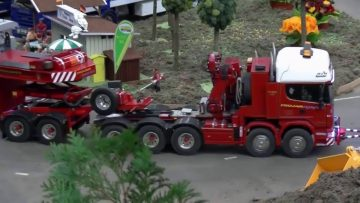 CONSTRUCTION MACHINES – NIESAMOWITE MODELE RC NA DRODZE – RC SHOW  – RC  FAIR !