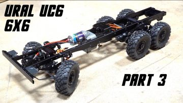 URAL UC6 6×6 OFF ROAD TRUCK BUILD (PT 3) | AVENTURAS RC
