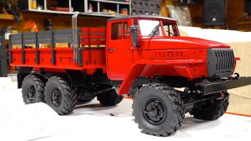 BUILDING A FIRE TRUCK! URAL UC6 6×6 | RC EVENTYR