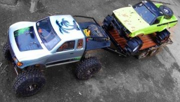 AVENTURES RC – SCALE TRUCK 4X4 FUN at Rude Boyz