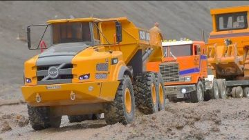 K 700 6X6 WORK EXTREME AT THE MINE! VOLVO A45G 6X6! LIEBHERR R970 SME SPECIAL