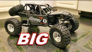 rc car Review WE ARE PUMPED for this RC CAR! – Axial 1/10 RR10 Bomber 4WD Rock Racer Unboxing – TheRcSaylors