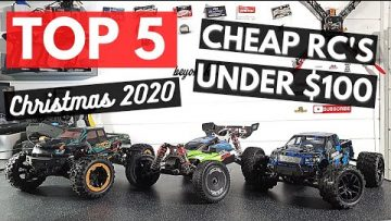 rc car Review Top 5 Cheap RC's under $100 for Christmas 2020!