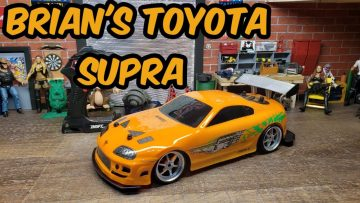 Jada toys fast and furious Brian's Toyota supra unboxed,tested, reviewed