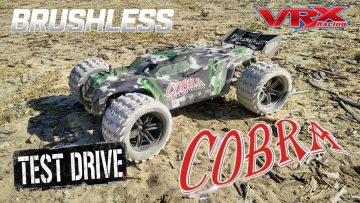 VRX Racing  RH818 COBRA Brushless Truggy Drive Test Review