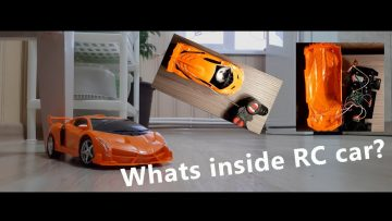 Unboxing and Dissasemble remote control car․ Whats inside RC car?