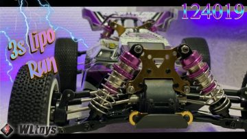 Wltoys 124019 3Lipo Speedcheck / Recensione / Unboxing 🏎💯