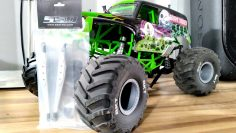 Axial SMT10 Grave Digger RC Aluminum Rear Trailing arms upgrade