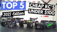 Top 5 Cheap RC's under $100 for 2021!